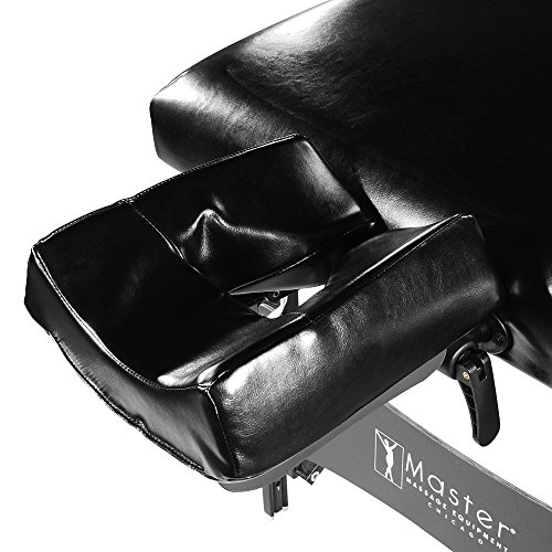 Master Massage Stratomaster Ultralight Portable Massage Table, Black, 30 Inch
