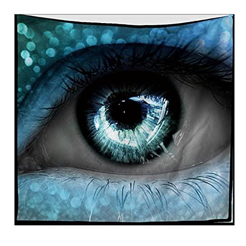 Ojos Azules Creativos Tapiz Colgante De Pared Dormitorio Sala De Estar Decoración De Pared Tapices Estera De Yoga Toalla De Playa Manta Mantel 150X200Cm