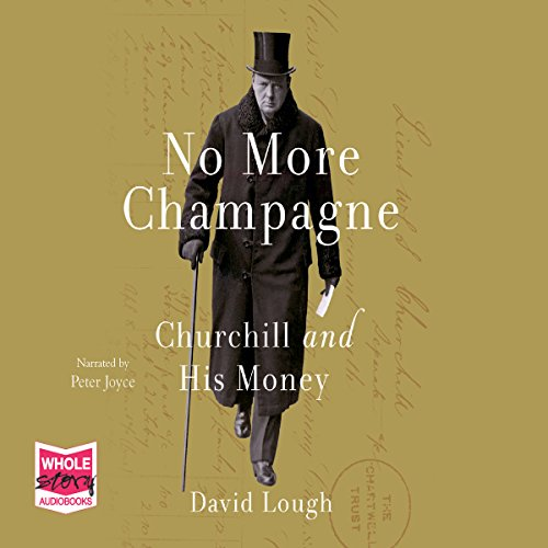No More Champagne audiobook cover art