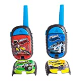 SAKBO Hot Wheels Walkie Talkies with 3 Different Face Plates -34084-TA - Black
