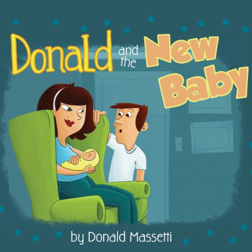 Donald and the New Baby audiobook cover art