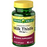 Spring Valley - Milk Thistle 175 mg, 90 Capsules by Spring Valley