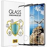 wsky Protector de pantalla de cristal templado [2 unidades] para Samsung Galaxy S10 Plus, dureza 9H, antiburbujas, protector de pantalla HD ultrafino para Samsung S10 Plus