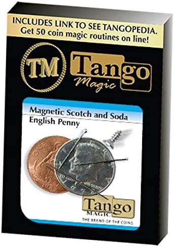 Magnetic Scotch Max 83% OFF and Soda English NEW before selling ☆ Magic Penny Tango By by