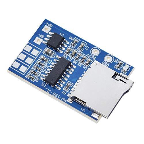 Elektronisches Modul GPD2846A TF-Karte MP3-Decoder Board Verstärkermodul 2W Audio-Wiedergabemodus GM Stromversorgung