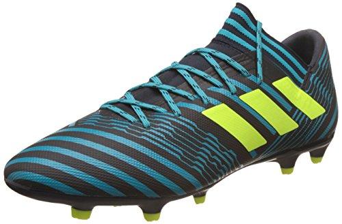 adidas Nemeziz 17.3 FG, Zapatillas de Fútbol para Hombre, Azul (Solar Yellow//Blue Coral), 45 1/3 EU