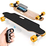 Hicient Electric Skateboard for Adults with Wireless Remote Skateboard Electric Longboard for Youths