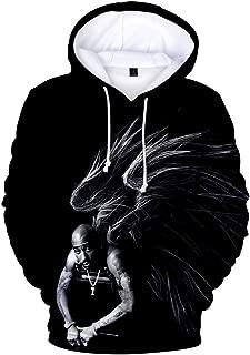 Hiphop 2pac All Eyez On Me was Unisex Hoodie 3D Printed Hooded Pullover Sweatshirt for Men