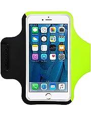 Yigou Running Armband voor iPhone 11/11 Pro/SE2/XS/XR/X/8/7/6 Plus, Sport Running Phone Armband Telefoon Houder voor Running Fit voor telefoons tot 6,3 inch