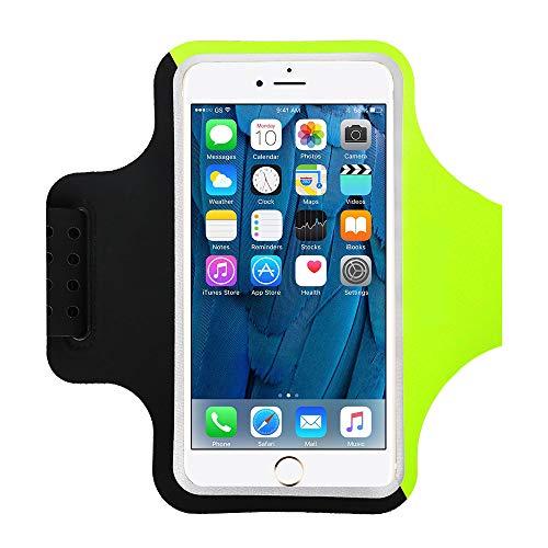Yigou Fascia da Braccio, Portacellulare per Correre Porta Cellulare da Corsa per iPhone 11 11 Pro SE 2020 XS XR X 8 7 6 Plus Fascia Porta Cellulare Running Fino a 6.3