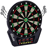 <span class='highlight'><span class='highlight'>HUKOER</span></span> Electronic Dart Board Automatic Scoring Soft Darts, Dart Board Game Set with 4 Led Displays, Professional Dart Board 27 Game Modes and 243 Variants, Available for 16 Players