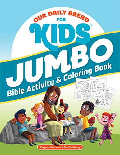 Our Daily Bread for Kids Jumbo Bible Activity & Coloring Book
