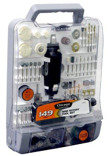Allied Tools 63516 149 Pc. Mini Rotary Tool Set