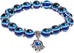 Blauwe Ogen Ontwerp Mode Kristal Turkse Oog Armband Lucky Charm Armband Voor Vrouwen En Mannen Unieke Stijlvolle Pols Kett...