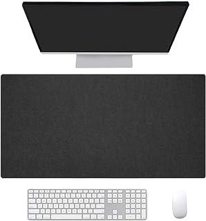 Ommda Antypoślizgowa filcowa podkładka pod mysz ochraniacz na biurko łatwa w czyszczeniu biuro komputer do gier na laptop...