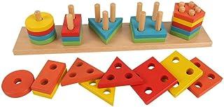 لعبة تعليمية لترتيب الاشكال للاطفال