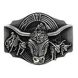 /Western Cowboy Eagle Buckle para cambio Cintur/ón para hombre y mujer eeddoo Cintur/ón Hebilla/