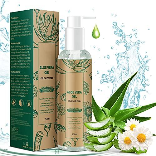 TABAIBA Aloe Vera Crema Hidratante Facial y Corporal, Normal, Fresco,