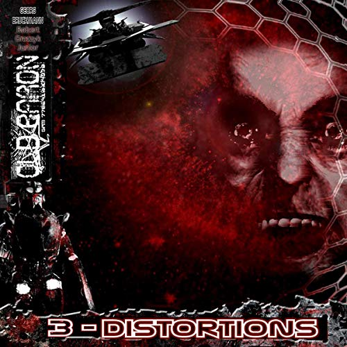 Distortions audiobook cover art