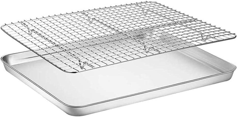 Nonstick Baking Sheets Removable Stainless Mat Jacksonville Mall Ba Steel Popular brand in the world