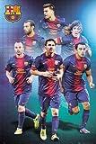 1art1 64100 FC Barcelona Poster - FC Barcelona, Spieler