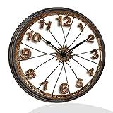 Lupia Orologio da Parete CLOCKART Tondo 60X60 cm Wheel