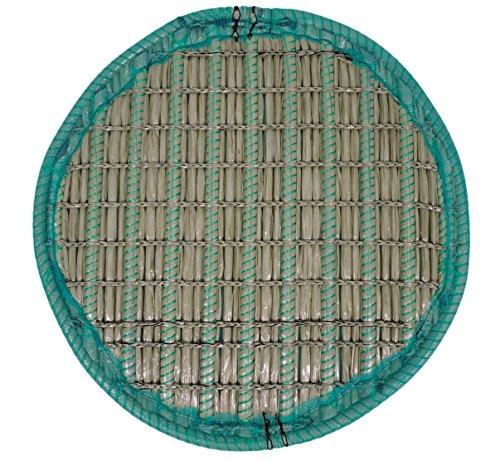 KOITEC Professional Pflanzinsel Teich, rund, schwimmend, 80cm – schöne Gartenteich-Atmosphäre mit Teichinsel, Pflanzkorb, Pflanzschale – Reduzierung von Algen & Ruhezone für Koi durch Pflanzeninsel