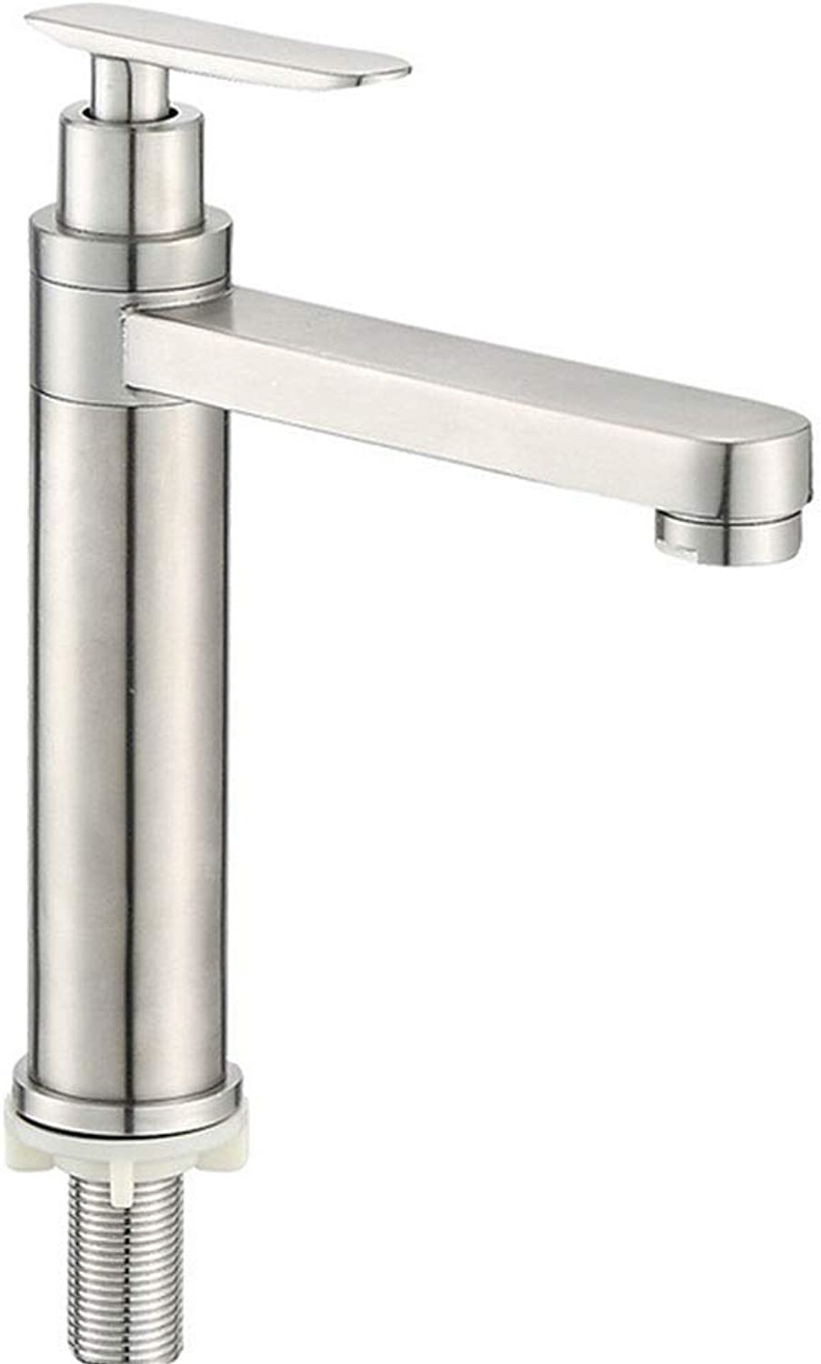 Towero Basin faucet 304 stainless steel single greenical faucet