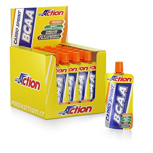 ProAction Carbo Sprint BCAA (arancia, confezione da 32 pezzi da 50 ml)