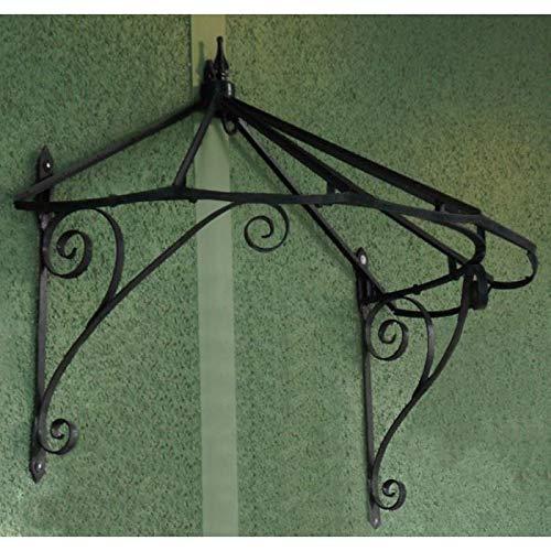 Black Country Metal Works Honeysuckle Cottage Over Door Canopy