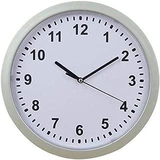 DIY Wall Clock,Wall Clock Hidden Safe Clock Safe Secret Safes Hidden Safe Wall Clock for Secret Stash Money Cash Jewelry,25x25x7cm (White)