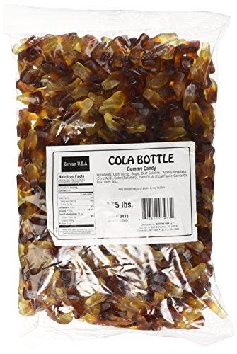 Cola Bottle Gummies - Bulk 5 LB