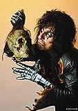 Unbekannt Alice Cooper- with Skull 1987 Poster 84x60cm