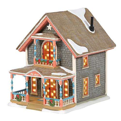 Department 56 New England Village Gingerbread Cottage #1 Building 6005421 New
