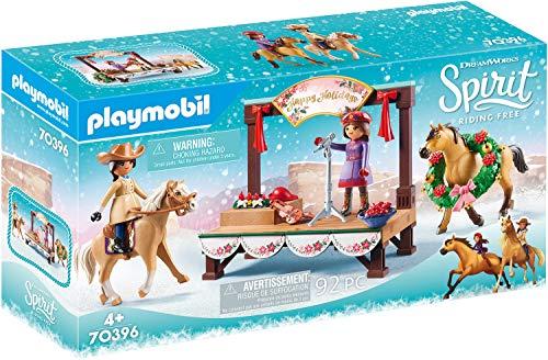 PLAYMOBIL DreamWorks Spirit 70396 Concierto de Navidad, A Partir de 4 Años