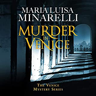Murder in Venice audiobook cover art