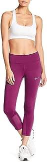NIKE Women's Dri-Fit Epic Running Crop Tights-Sport Fuchsia-XS