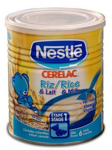 Large discharge sale Nestle Cerelac Animer and price revision Rice 400g Europe