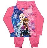 Frozen - Die Eiskönigin Mädchen Schlafanzug ELSA Pyjama (Rosa, 92-98)
