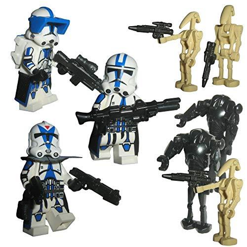 Custom Brick Design 501st Legion Clone Trooper Battle Pack V.1 - modifizierte Minifiguren des bekannten Klemmbausteinherstellers und somit voll kompatibel zu Lego