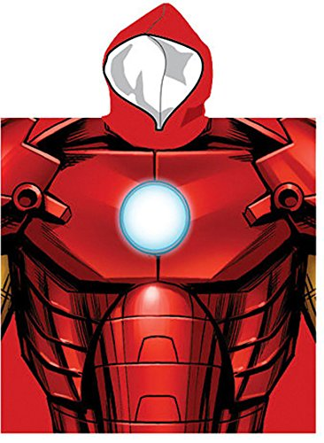 Poncho towel Iron Man Avengers Avengers Marvel microf