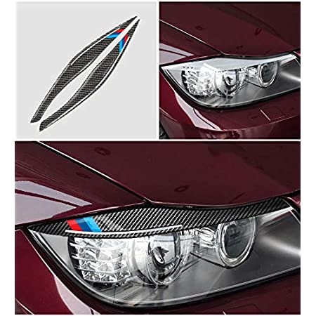 KUST Car Rear Tail Light Lamp Eyelid Eyebrow Cover Trim Decoration ABS Chrome 4PCS Headlight Eyelids Trim Stickers for Qashqai 2014 2015 2016