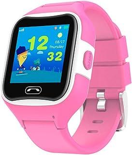 Redlemon Smartwatch Kids GPS para Niños, con Bluetooth y Ranura para Chip SIM, Resistente al Agua, Botón SOS, Llamadas y Mensajes de Voz, Pantalla Táctil, Agenda, Alarmas, Perímetro de Seguridad y más.