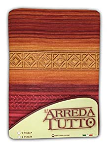 Manta multiusos de estilo inca, colcha para la cama o el sofá, color granate, 2 plazas