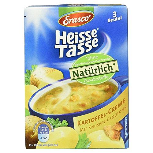 Erasco Heisse Tasse Kartoffel-Creme, 3 Beutel, 54 g