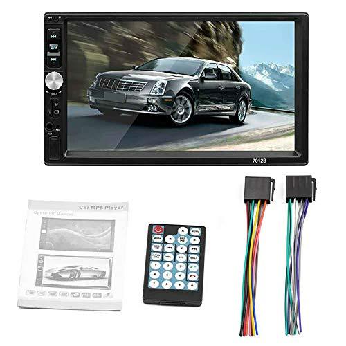 Ultra-Light 1080P 7-inch 2DIN FM/AM Radio WiFi Bluetooth manos libres USB Fast Charging Car Multimedia Player