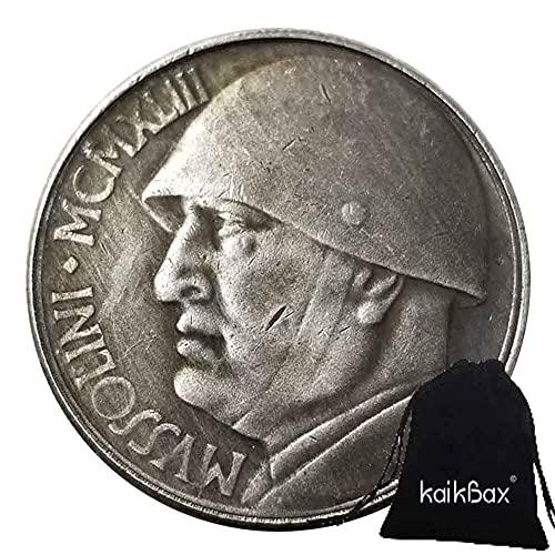 YunBest - Monete rare e storiche d'Italia, moneta commemorativa italiana, 1943