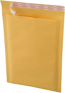 EcoSwift 25 9.5 x 14.5 Kraft Bubble Mailers Size #4 Self Sealing Bulk Padded Shipping Supplies Packaging Materials Envelop...