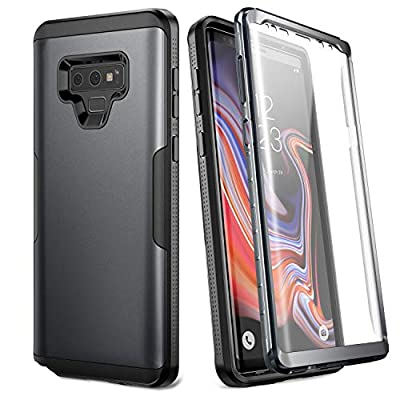 YOUMAKER Case Galaxy Note 9, Full Body Heavy Duty Protection Built-in Screen Protector Shockproof Rugged Cover Samsung Galaxy Note 9 (2018) 6.4 inch