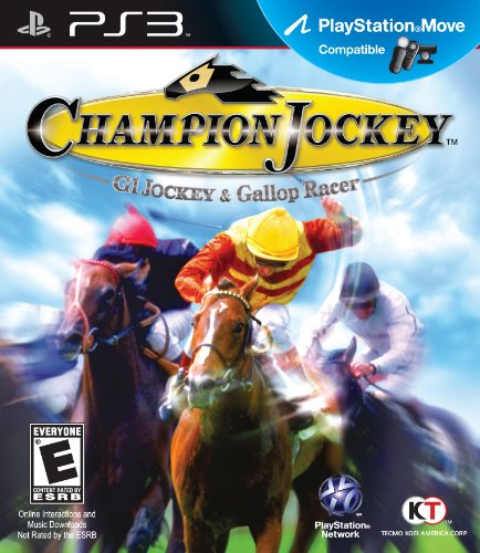 Tecmo Koei Champion Jockey: G1 Jockey & Gallop Racer, PS3 Basic PlayStation 3 Inglese videogioco